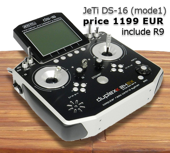 JeTi DS-16 (mode1), price 1199 EUR include R9
